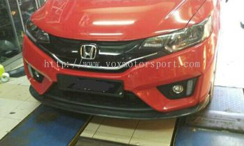 2017 honda jazz gk rs bumper lip rs carbon fibre new
