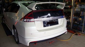 HONDA INSIGHT 2012 SPOILER MUGEN BODYKIT