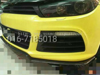 Volkswagen scirocco bumper lip type aspec carbon new