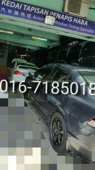 honda civic fd bumper type r new