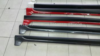 2017 honda jazz bodykit side skirt rs new