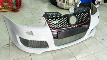 volkswagen golf mk5 gti oettinger front bumper for mk5 golf replace upgrade performance look frp material new set