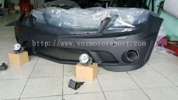 Mercedes benz w204 bumper amg sport pp new