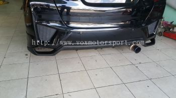 2014 2015 2016 2017 2018 2019 2020 honda fit jazz gk rear bumper diffuser seeker style for jazz fit gk rear bumper rs add on upgrade performance look abs pp material new set