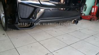 2014 2015 2016 2017 2018 2019 2020 honda fit jazz gk rear diffuser seeker for jazz fit gk rear bumper rs add on upgrade performance look abs pp material new set