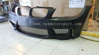 bmw e90 bumper 1m pp new set