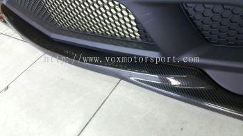 Mercedes Benz w204 bumper amg lip cf carbon new