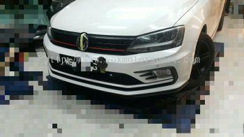 Volkswagen jetta bumper gli pp new face 2016