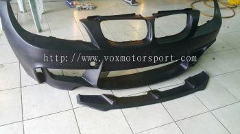 Bmw e90 bumper 1m rzs type-1 lip diffuser