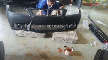 Bmw e90 bumper bodykit m3 pp material.