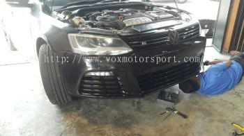 Volkswagen jetta bumper r bodykit pp material