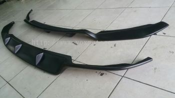 2014 2015 Honda jazz gk bumper rear diffuser new