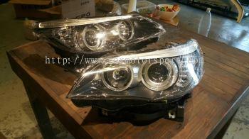 Bmw e60 Head Light lci new set