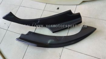 2016 2017 2018 Honda civic fc spoiler votex generator rear Diffuser