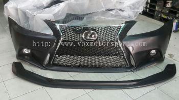 Lexus is250 bodykit Bumper f sport pp new set
