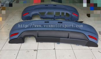 2011 2012 2013 2014 2015 polo bumper gti rear pp material new set