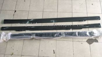 2016 2017 2018 Honda civic fc side skirt lip on carbon new set