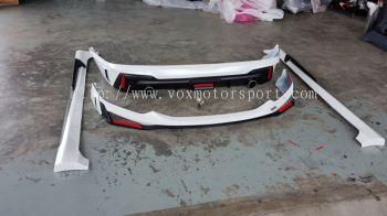 2017 2018 new honda city bodykit drive68 ppu material new set