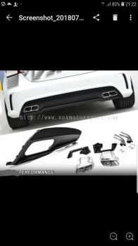 2013 2014 2015 2016 Mercedes-Benz w176 amg rear bumper bodykit new set