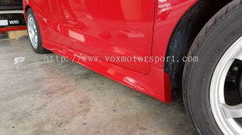 2017 2018 honda jazz gk side skirt rs side skirting pp abs Material