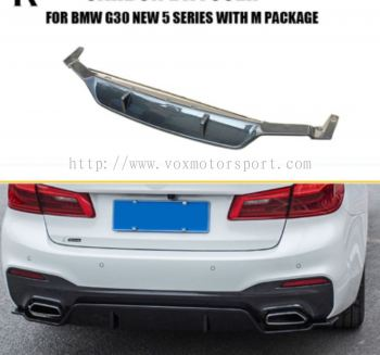 Bmw g30 m performance bumper rear lip diffuser new