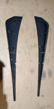 2016 2017 2018 Honda civic fc fender side archer carbon print new