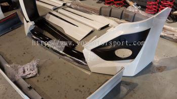 2015 2016 2017 toyota Vellfire bodykit modellista pp Material new