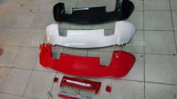 2014 2015 2016 2017 2018 honda jazz fit gk rs spoiler rs abs new
