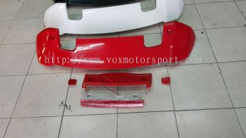 2014 2015 2016 2017 2018 2019 2020 honda jazz fit gk spoiler rs add on upgrade performance look abs material new set