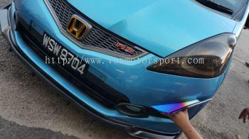 Honda jazz fit ge bumper front canard titanium abs new