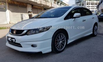 2012 2013 2014 2015 2016 Honda civic fb bodykit mugen bodykit new set