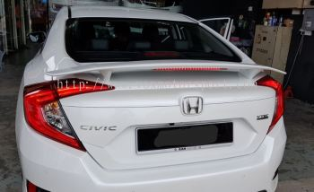 2016 20170 2018 Honda civic fc spoiler si new