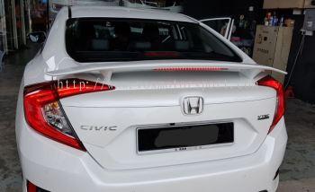 2016 20170 2018 Honda civic fc spoiler si new