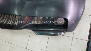 2004 2005 2006 2007 bmw e90 mtech bumper front lip diffuser carbon new
