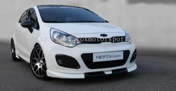 KIA RIO BODYKIT BUMPER LIP ON