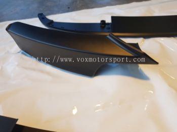 Bmw f30 3 m performance bumper lip pp Material new