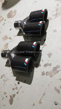 Bmw f10 exhoust tip m performance carbon tail pipe tip
