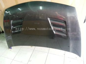 HONDA CIVIC FD HOOD CARBON MUGEN TYPE R
