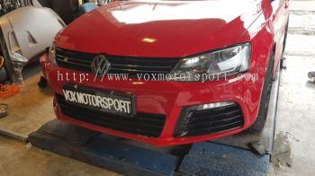 Volkswagen jetta front bumper Bodykit bumper r Pp Material new set