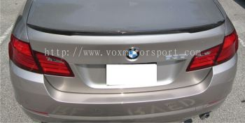 bmw f10 spoiler m performance style rear trunk spoiler real carbon material new