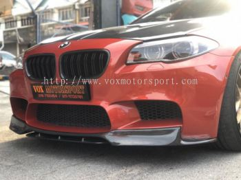 bmw f10 m5 bumper front lip vorsteiner style for m5 msport bumper add on real carbon fiber material new set