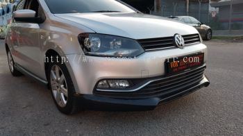 Volkswagen polo Bodykit rline style add on lip abs Material new set