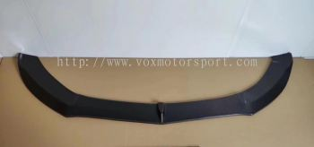 mercedes benz w205 amg line fd style add on front lip diffuser real carbon fiber material new set