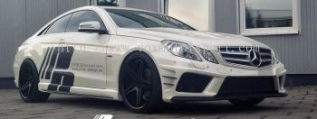 mercedes benz w207 coupe prior style bodykit for w207 replace upgrade performance look frp fiber material new set