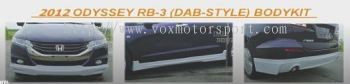 honda odyssey rb3 bodykit dab style add on upgrade performance look frp material new set