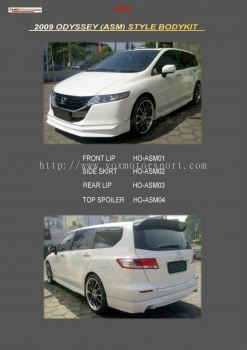 honda odyssey rb3 bodykit asm style add on upgrade performance look frp material new set