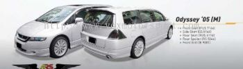 honda odyssey rb1 bodykit mugen style add on upgrade performance look frp material new set
