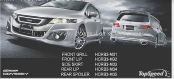 honda odyssey rb3 bodykit mugen rs style replace upgrade performance look frp material new set