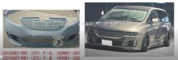 honda odyssey rb1 bodykit gti style replace upgrade performance look frp material new set