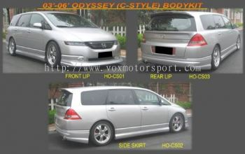 honda oddysey rb1 bodykit c style add on upgrade performance look frp material new set